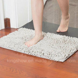 Tufted Microfiber Chenille Carpet Area Rug Door Mat (40*60)