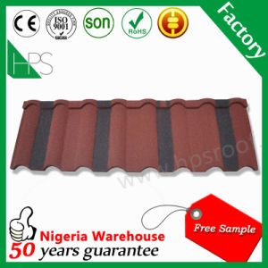 Africa Hot Sale Stone Coated Metal Roof Tile Rose Fish Scale Roof Tiles Factory Price pictures & photos
