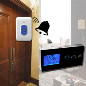 2014 Hot Digital Table Clock with Door Bell