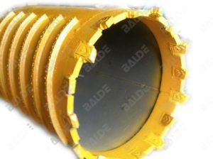 Earth Rock Drilling Tools with Casing Teeth for Piling