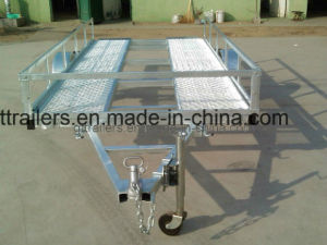 Hot DIP Galvanized Golf Cart Trailer (TR0104) pictures & photos