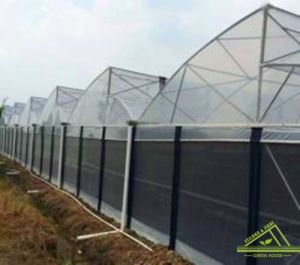 Zigzag Roof Film Greenhouse
