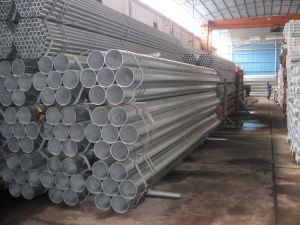 Galvanized ERW Welded Steel Pipes & Tubes