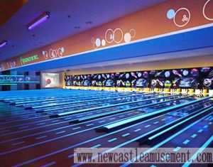 Bowling Lane / Fluorescent Overlay Bowling pictures & photos