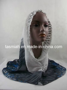 Newest Style Hijabs Scarf, Popular Malaysian Style (SITI-001#)