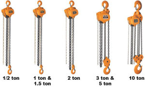 3ton Manual Hand Chain Hoist with G80 Chain