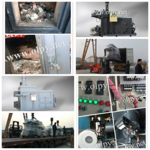 Urban Waste or Municipal Solid Waste Incinerator Without Secondary Pollution pictures & photos