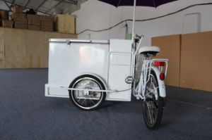 High Quality Popsicle Making Machine Ice Cream Cart Bicycle With Three Wheels