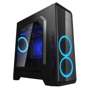 Gaming Case G561 Black Comine with 1xusb3.0 and Top PSU Housing Covered pictures & photos