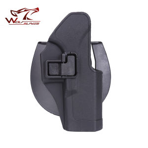 Police Gun Paddle Glock Holster CQC G17/22/31 Pistol Beretta Holster pictures & photos