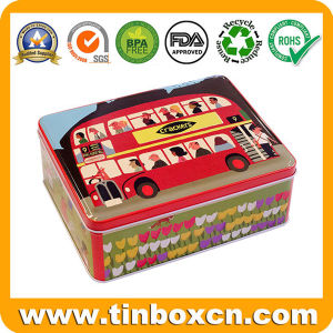 Metal Rectangular Tin for Gift Tin Can Packing, Tin Boxes pictures & photos