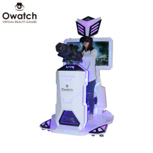 93d7eb9ce34e Realistic Gatling Shooting Experience Owatch Vr Machine Gun Simulator with  HTC Vive Glasses