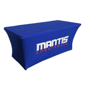 4FT 6FT 8FT Custom Logo Stretch Product Show Table Cover