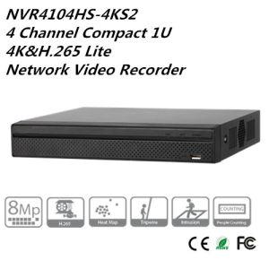 Dahua NVR4104HS-4KS2 4 Channel Compact 1U 4K/&H.265 Lite Network Video Recorder
