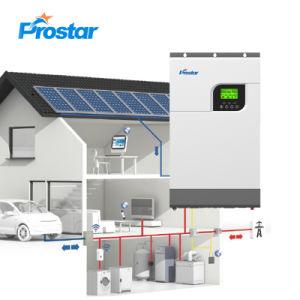 Hybride 5.5 kW Solar inverter Chargeur sur la grille et OFF GRID 48VDC 2x MPPT 500VDC