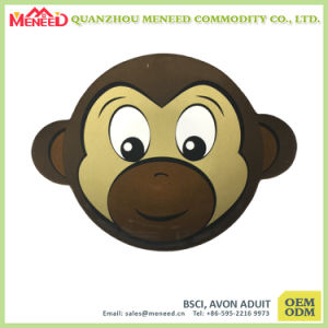 EU Standard Kid Use Melamine Monkey Shaped Plate