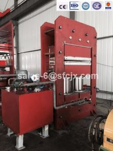 470 Ton Curing Press with Front and Rear Push-Pull Device