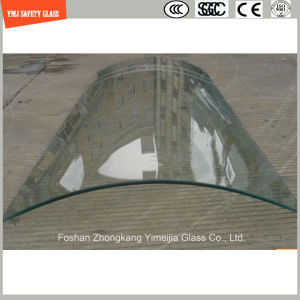 3-19mm Silkscreen Print/Acid Etch/Frosted/Pattern Irregular Bent Safety Tempered/Toughened Glass for Door/Window/Shower Door with SGCC/Ce&CCC&ISO Certificate pictures & photos
