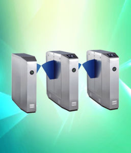 Stainless Steel Flap Barrier Tripod Turnstile with Infrared Detection pictures & photos