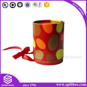 Wedding Candy Chocolate Gift Paper Packaging Round Box