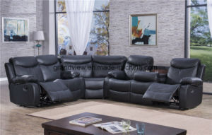 China 2018 Traditional PU Leather Reclining Corner Sectional Sofa ...
