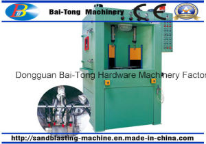 Turntable Type Automatic Wet Sandblasting Machine for Turbo Parts