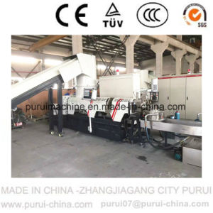 Low-Noise Waste PE Film Plastic Pelletizing Machine with PLC Touch Screen pictures & photos