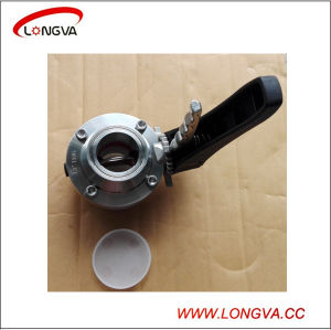 Stainless Steel Sanitary Clamped Butterfly Valve with Trigger Handle pictures & photos