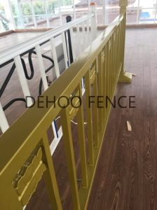 Free Maintenance Powder Coated Municipal Fence/Guardrail for Security pictures & photos