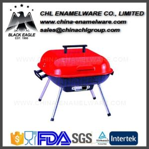Manufacturer Picnic Enamel Cast Iron BBQ Stove for Outdoor Hiking pictures & photos