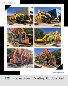 Used Hitachi Excavator Zx200 Secondhand Excavator on Sale! pictures & photos