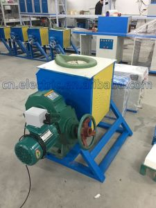 Small Portable Copper Induction Melting Furnace pictures & photos