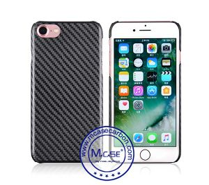 Trendy Fashionable Design Carbon Fiber Twill Textured Feel Case for iPhone 7 Telephone Cover pictures & photos