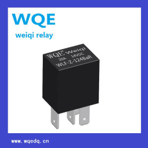 Miniature Relay 20A 14VDC Use for Automation Systems Auto Parts (WLF) pictures & photos