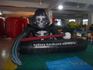 Cheap Inflatable Advertising Reaper Scythe and Cup for Sale pictures & photos
