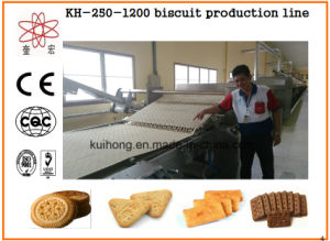 Kh-600 Jam Filled Biscuit Making Machine Manufacturer pictures & photos