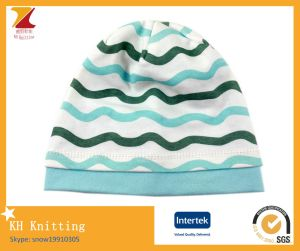 100 % Cotton Baby Cute Stripe Fresh Hat