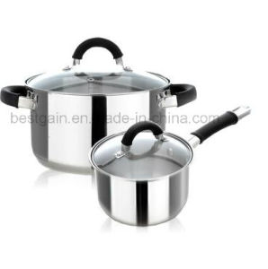 Kitchenware 4PCS Stainless Steel Cookware Set pictures & photos