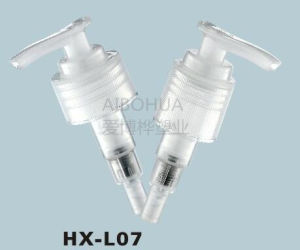 Screw Pump Lock Plastic Lotion Pump pictures & photos