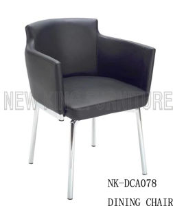 China Colored Stainless Steel Dining Chairs in Low Price (NK-DCA078)