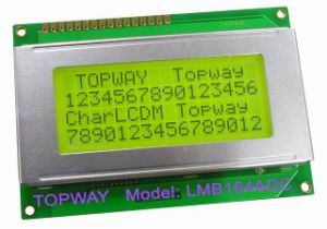 16X4 Character LCD Display Alphanumeric COB Type LCD Module (LMB164A) pictures & photos