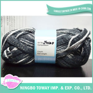 Customized Polyester Wool Cotton Acrylic Hand Knitting Yarn pictures & photos