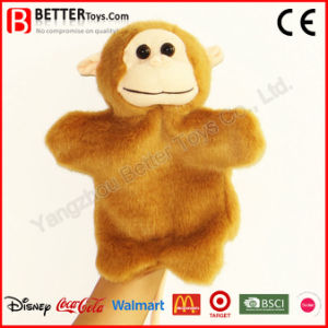 Stuffed Monkey Plush Toy Hand Puppet for Baby/Children/Kids pictures & photos
