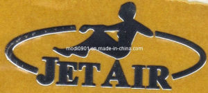 Custom Electroplate Chip Nameplate, Thin Sheet Nameplate, Metal Logo Metal Logo, Fission Letter