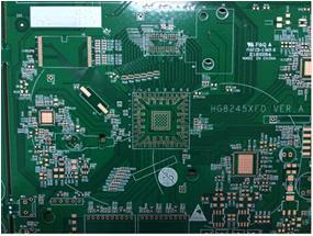 OSP Double-Sided Fr-4 Set Top Box (STB) Control Circuit Board