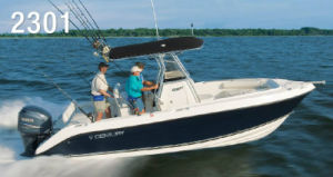 Sporray 23D FRP Fishing Boat