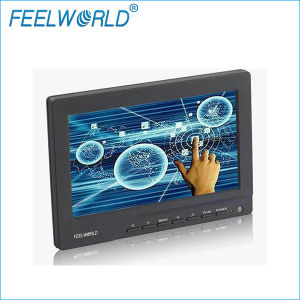 "Feelworld 7"" LCD Screen Monitor with HDMI Input, Touchscreen Function for Bus, Advertising"