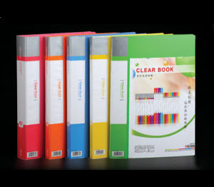 A4 Clear Book in Happy Colored (H30A)
