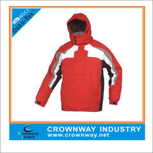 Breathable Windproof Ski Jacket for Men Outdoors pictures & photos