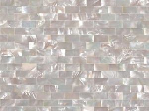 China White Mother Of Pearl Tile